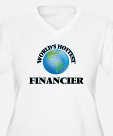 World's Hottest Financier Plus Size T-Shirt