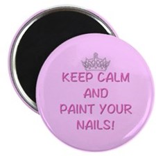 Paint nails magnet Magnets