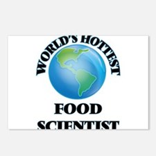 World's Hottest Food Scie Postcards (Package of 8)
