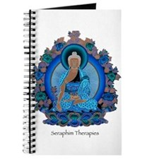 Blue psychedelic Buddha Journal