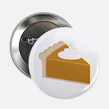 """Pumpkin Pie Slice 2.25"""" Button (10 pack)"""