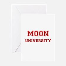 MOON UNIVERSITY Greeting Cards (Pk of 10)