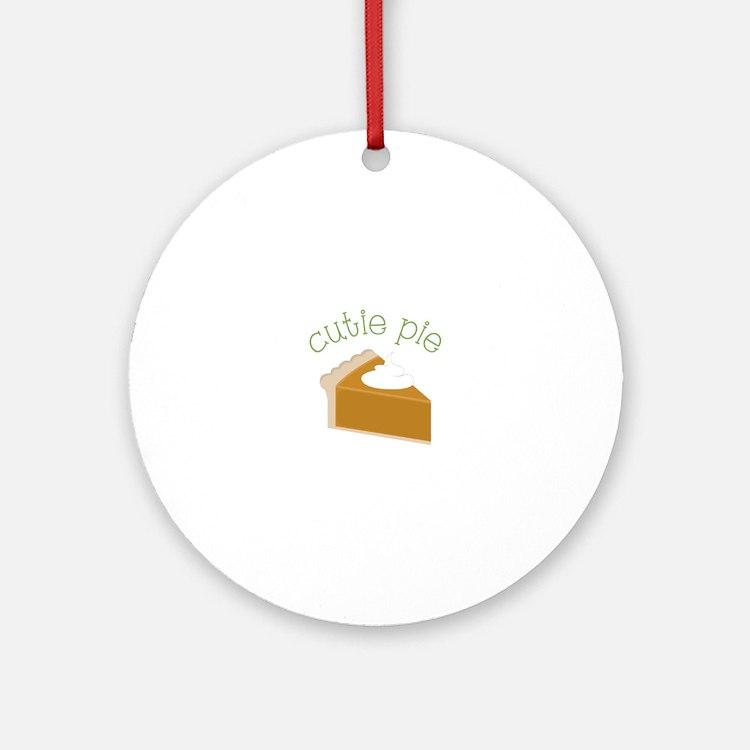 Cutie Pie Ornament (Round)