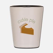 Cutie Pie Shot Glass