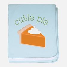 Cutie Pie baby blanket