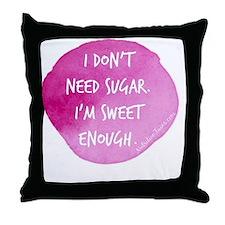Cute Exercise Throw Pillow