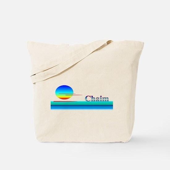 Chaim Tote Bag