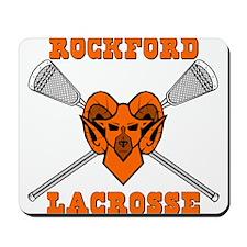 Lacrosse Rams Mousepad