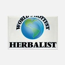 World's Hottest Herbalist Magnets