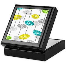 Mid-Century Modern Seed Pods Keepsake Box