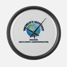 World's Hottest Higher Education Large Wall Clock