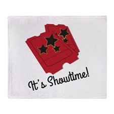 Its Showtime Throw Blanket