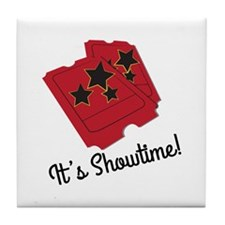 Its Showtime Tile Coaster