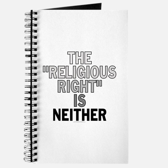 Religious right... (unlined journal)