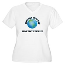 World's Hottest Horticulturist Plus Size T-Shirt