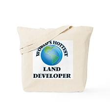 World's Hottest Land Developer Tote Bag