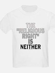 Religious right... (kids t-shirt)