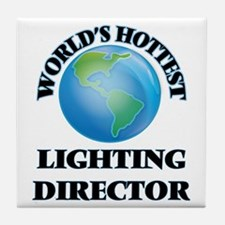 World's Hottest Lighting Director Tile Coaster