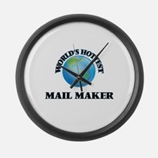 World's Hottest Mail Maker Large Wall Clock