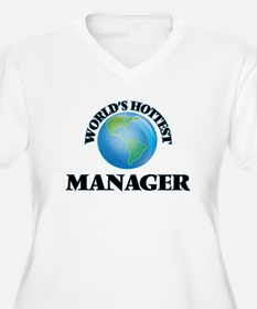 World's Hottest Manager Plus Size T-Shirt