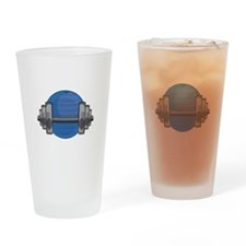 Workout Gear Drinking Glass