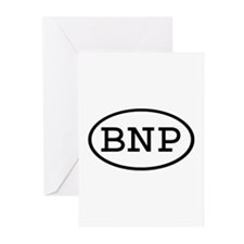 BNP Oval Greeting Cards (Pk of 10)
