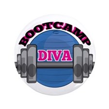 """Bootcamp Diva 3.5"""" Button (100 pack)"""