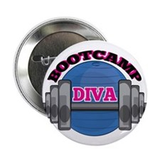 """Bootcamp Diva 2.25"""" Button (100 pack)"""
