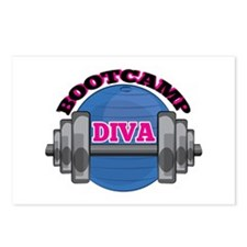 Bootcamp Diva Postcards (Package of 8)