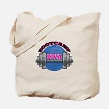 Bootcamp Diva Tote Bag