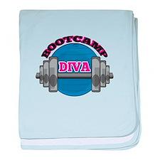Bootcamp Diva baby blanket