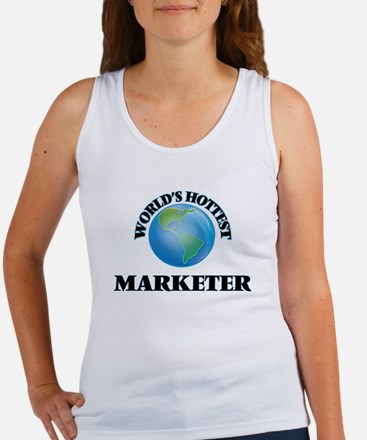 World's Hottest Marketer Tank Top