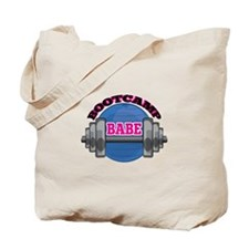 Bootcamp Babe Tote Bag