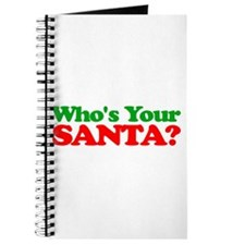 Who's Your Santa? Journal
