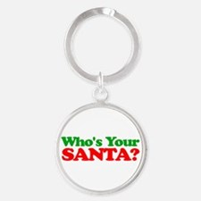 Who's Your Santa? Keychains