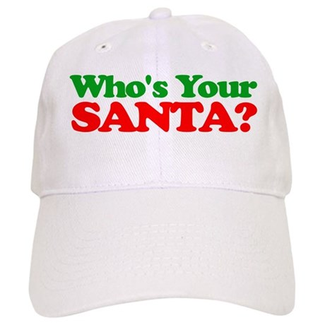 who s your santa baseball hat by christmasjoy88