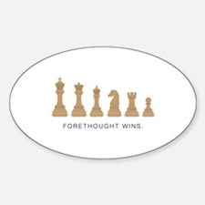 Forethought Wins Decal