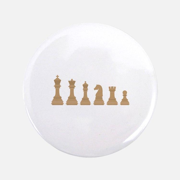 "Chess Pieces 3.5"" Button"