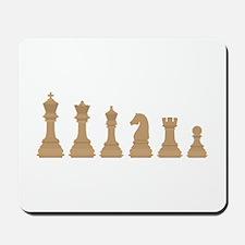 Chess Pieces Mousepad