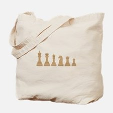 Chess Pieces Tote Bag