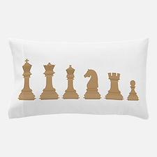 Chess Pieces Pillow Case
