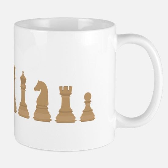 Chess Pieces Mugs