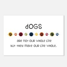 Dogs Postcards (Package of 8)