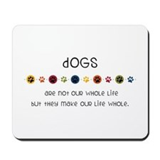Dogs Mousepad