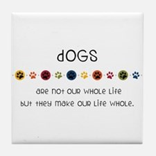 Dogs Tile Coaster