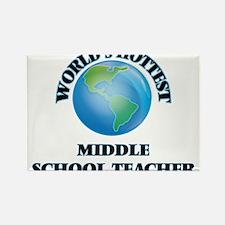 World's Hottest Middle School Teacher Magnets