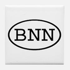 BNN Oval Tile Coaster