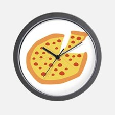 Pizza Pie Wall Clock