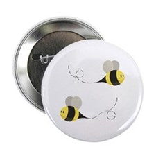 """Buzy Bee 2.25"""" Button (10 pack)"""