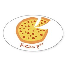 Pizza Pie Decal